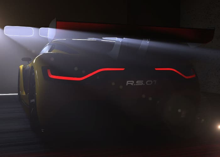 Teaser del Renault Sport RS 01