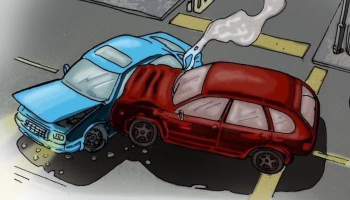Accidente dibujo