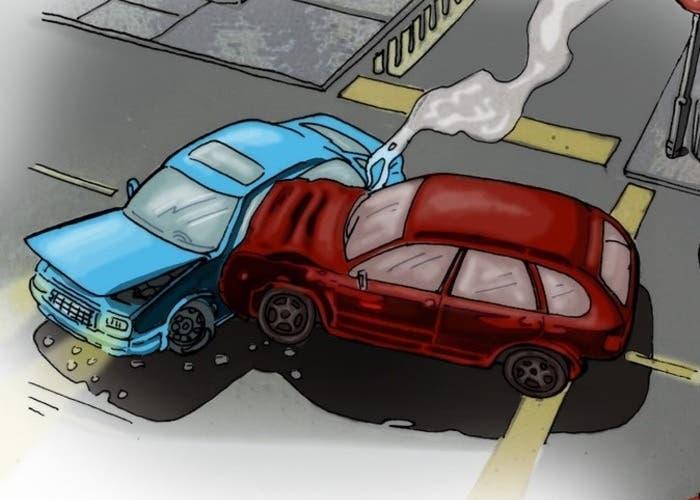 Accidentes De Transito Dibujos