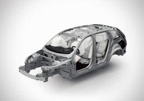 Monocasco del Volvo XC90