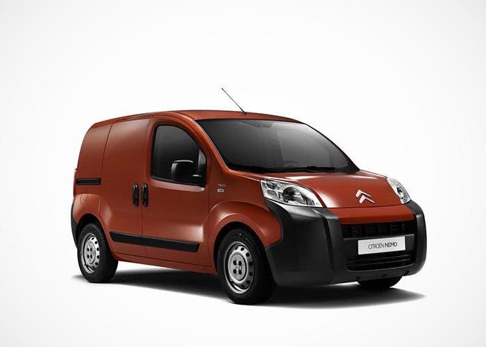 Frontal de la Citroën Nemo