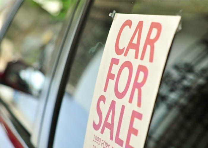 Anuncio de coche en venta