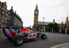 Red Bull F1 por Londres