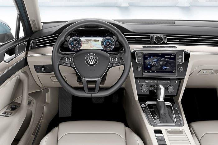 Puesto de conducción del Volkswagen Passat B8