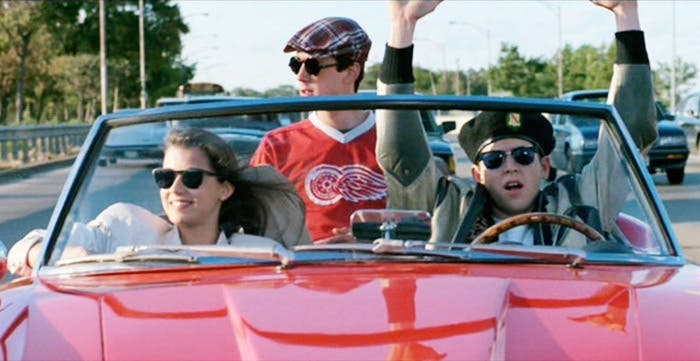 De fiesta en coche