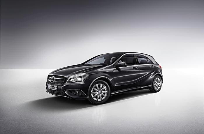 Frontal del Mercedes Clase A