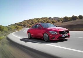 Frontal del Mercedes CLA