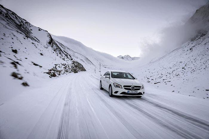 Frontal del Mercedes CLA