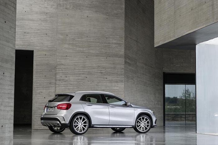 Trasera del Mercedes GLA