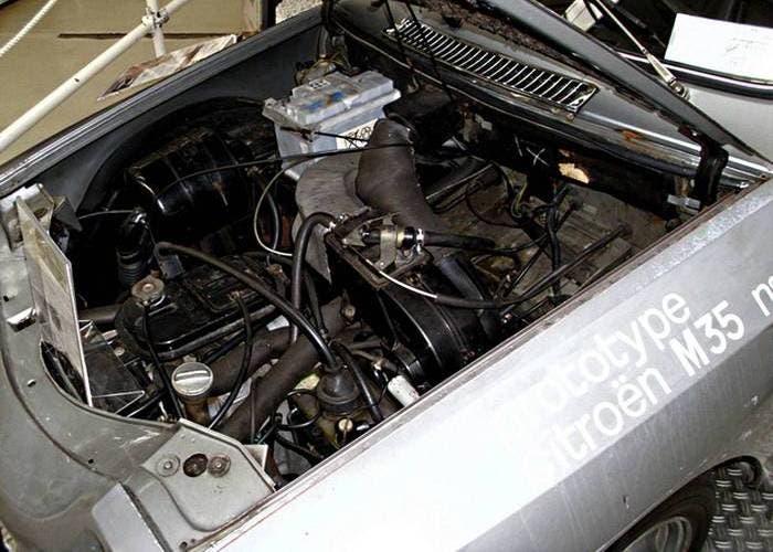 Motor Wankel del Citroën M35