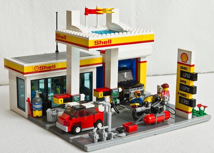 Gasolinera de LEGO