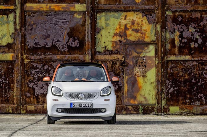 Frontal del Smart Fortwo
