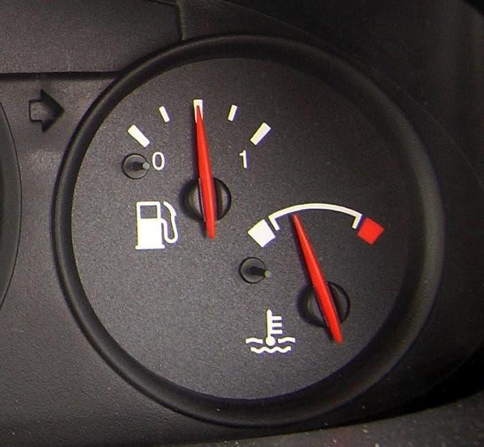 Temperatura del aceite