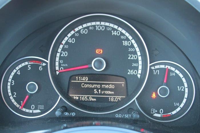 Instrumentación del VW Beetle