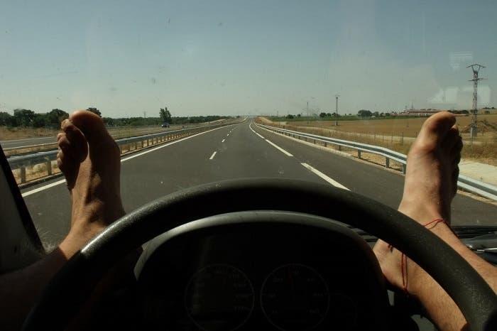 Conduciendo cómodo