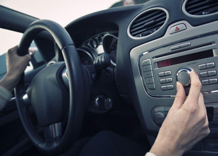 Radio del coche