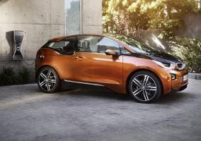 BMW i3 naranja