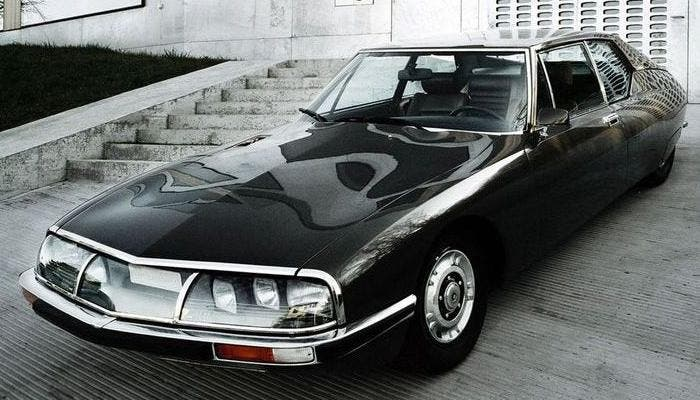 Citroën SM negro