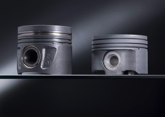 Pistón aluminio vs pistón de acero