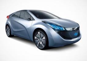 Frontal del Hyundai Blue Will