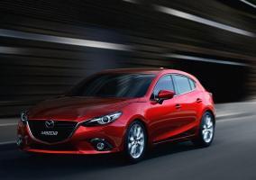 Frontal del Mazda 3