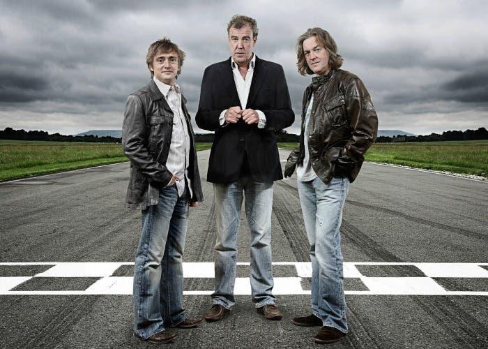 Jeremy Clarkson, James May y Richard Hammon