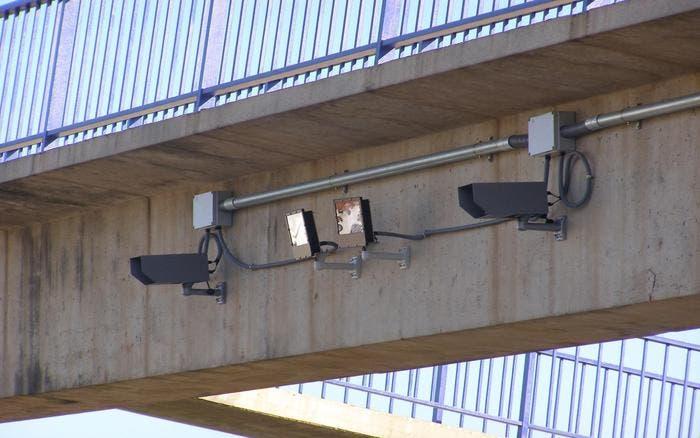 Radares en pórtico