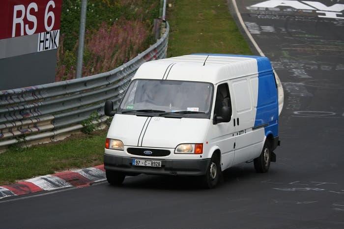 Transit rodando en Nurburgring