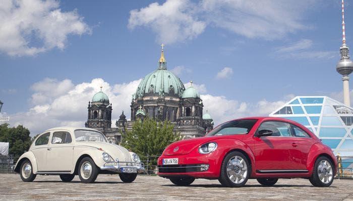 Antiguo y nuevo Beetle