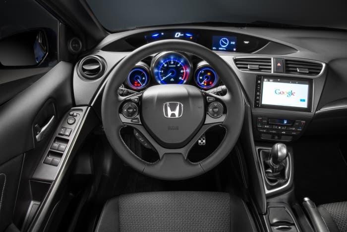 Vista del interior Honda Civic Sport