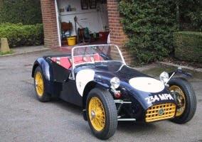 Primera generación del Lotus Seven