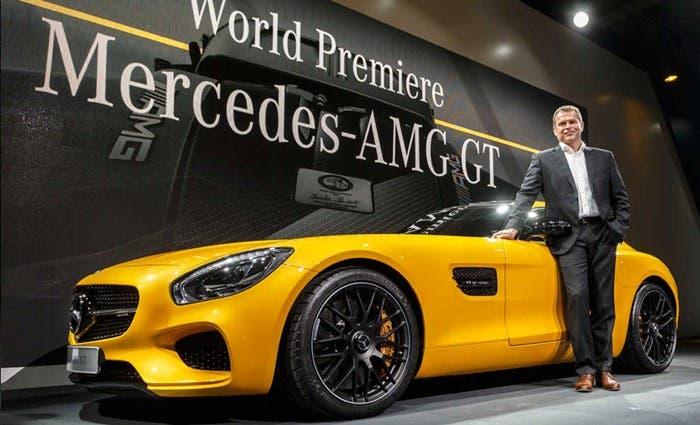 Presentación del Mercedes-AMG GT