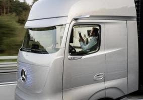 Camión autónomo de Mercedes