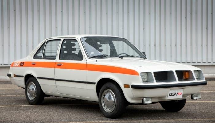 Vista frontal del Opel Concept OSV 40