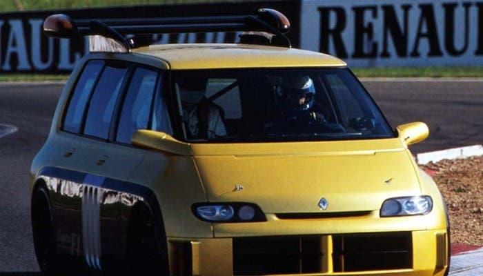 Renault Espace F1 en circuito