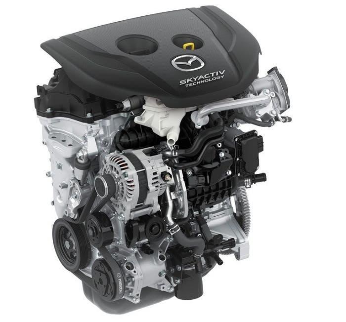 Motor Mazda Skyactiv de 1.5 litros