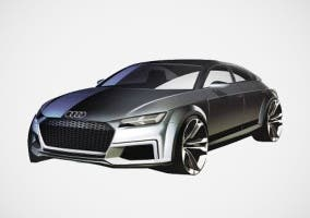 Posible Audi TT Sportback visto en internet