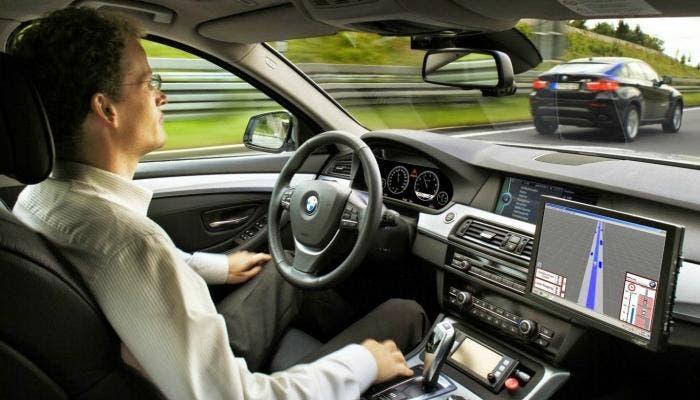 Probador del coche autónomo de BMW