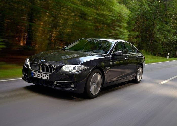 Frontal del BMW 520d