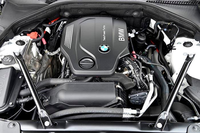 Motor del BMW 520d