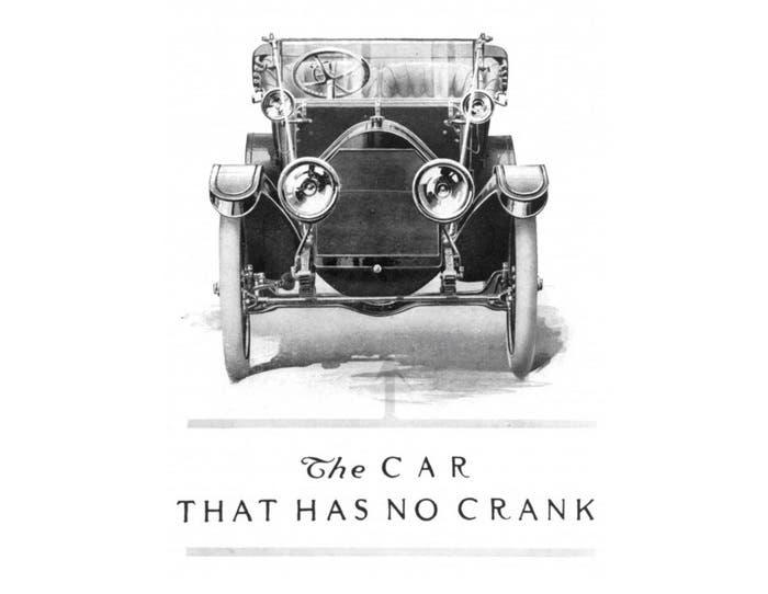 Cadillac sin manivela