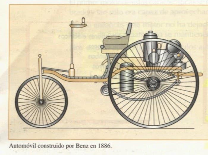 Diseño de Benz de 1886
