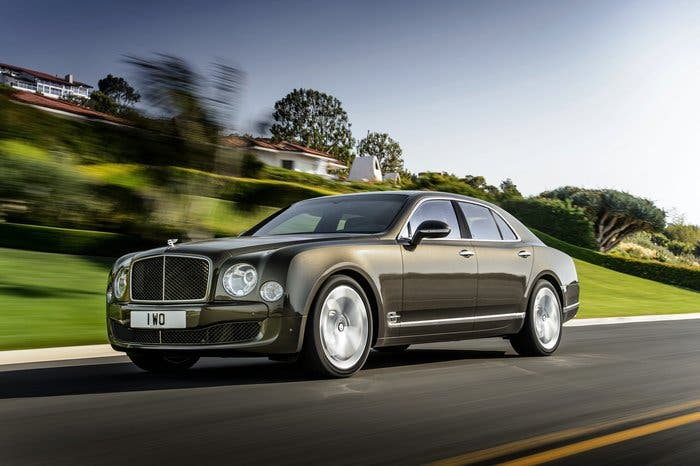 Exterior del Bentley Mulsanne Speed