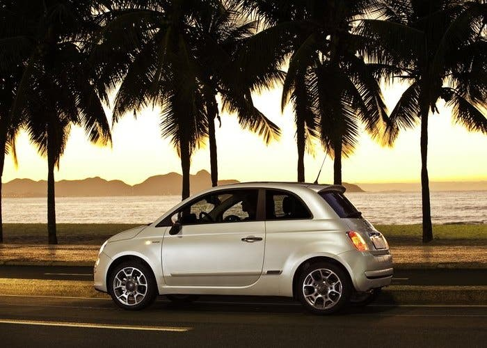 Fiat 500 blanco