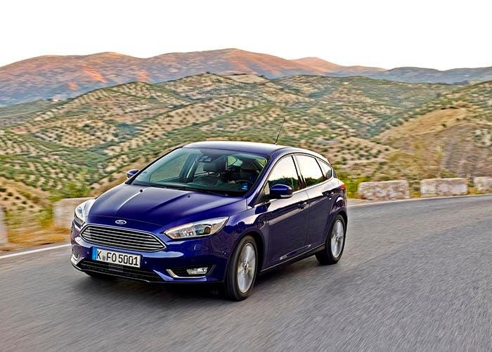 Vista frontal del Ford Focus 2014