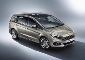 Frontal del Ford S-MAX