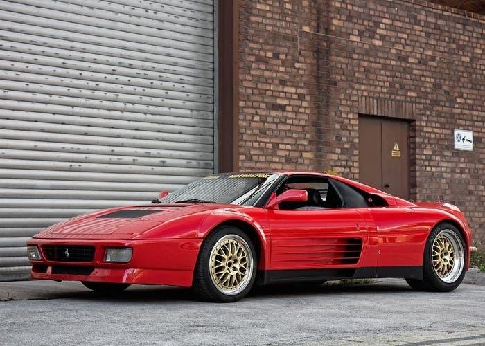 Frontal de la mula del Ferrari Enzo