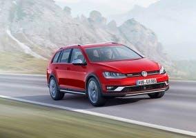 Frontal del Volkswagen Golf Alltrack