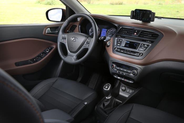 Imagen del interior del Hyundai i20