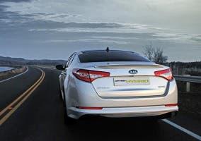 Trasera del Kia Optima Hybrid